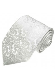 Wedding Tie most noble white LORENZO CANA