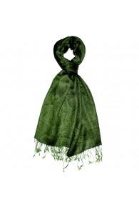 Herren Schaltuch Paisley grün grasgrün LORENZO CANA