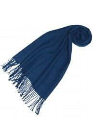 Alpaka scarf blue herringbone LORENZO CANA