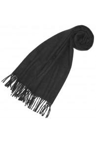 Scarf for women Dark gray alpaca wool LORENZO CANA