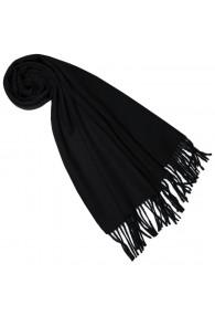 Scarf for women Black alpaca wool LORENZO CANA