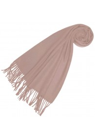 Scarf for women rosé alpaca wool LORENZO CANA