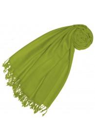 Cashmere + wool mens scarf spring green monochrome LORENZO CANA