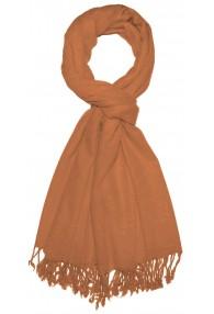 Scarf Cashmere Merino Wool apricot LORENZO CANA