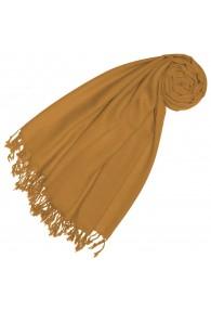 Scarf Cashmere Merino Wool Yellow LORENZO CANA