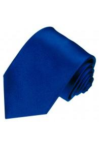 Neck Tie 100% Silk Paisley Dark Blue LORENZO CANA