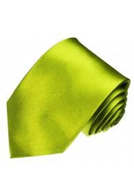 Neck Tie 100% Silk Uni Green Forest LORENZO CANA