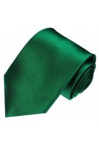 Neck Tie 100% Silk Uni Dark Green LORENZO CANA