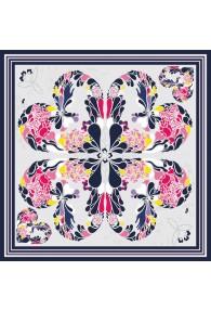 XXL Silk scarf multicoloured Floral LORENZO CANA online