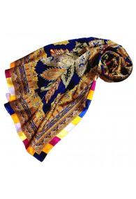 Scarf for Women multicoloured silk Floral LORENZO CANA