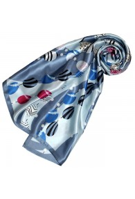 Silk scarf Blue Paisley LORENZO CANA