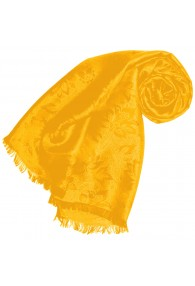 Yellow scarf for men Paisley LORENZO CANA