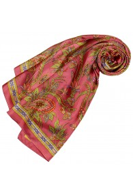 Silk scarf Paisely in red LORENZO CANA