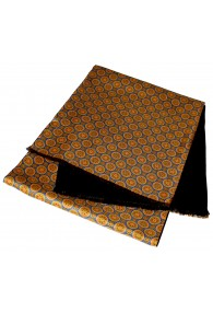 Reversible scarf for women Gold LORENZO CANA