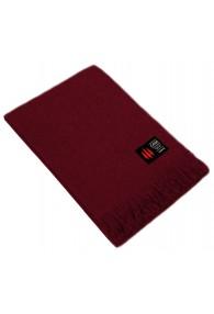 Blanket 100% alpaca wine red LORENZO CANA