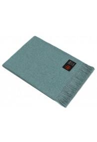 Sofa blanket 100% alpaca turquoise LORENZO CANA