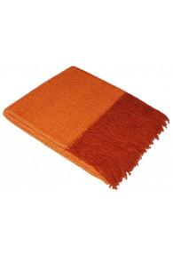 Sofa Blanket 100% Alpaca Orange LORENZO CANA