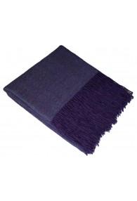 Sofa Blanket 100% Alpaca Purple LORENZO CANA