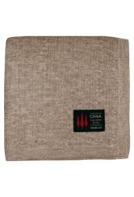 Sofa Blanket 100% Alpaca Natural Brown LORENZO CANA