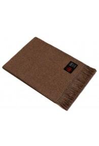 Sofa blanket 100% alpaca cocoa brown LORENZO CANA