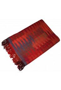 Blanket orange blue red LORENZO CANA