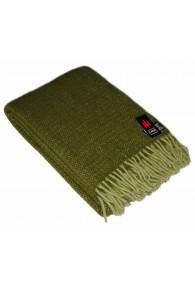 Woolen blanket fir green LORENZO CANA